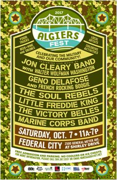 Algiers Fall Festival 2017 - Canceled