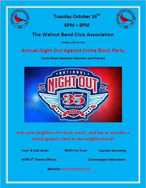 Night Out Flyer 2018 2