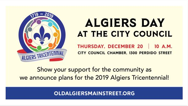 Algiers Day at the City Council
